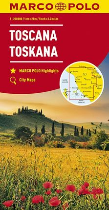 TOSCANA / TOSKANA [1:200.000] -MARCO POLO