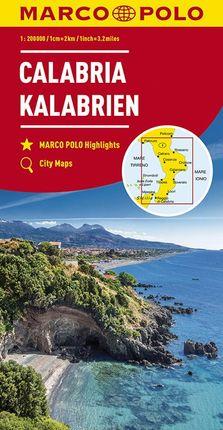 CALABRIA / KALABRIEN [1:200.000] -MARCO POLO