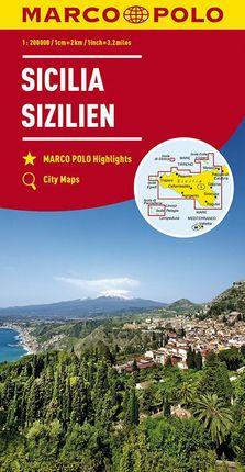 SICILIA / SIZILIEN [1:200.000] -MARCO POLO
