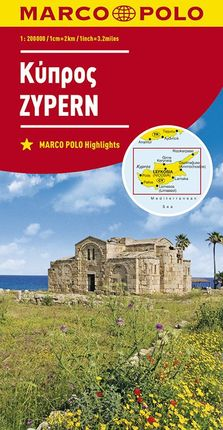 CYPRUS / ZYPERN [1:200.000] -MARCO POLO