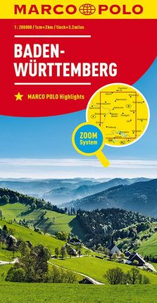 BADEN-WURTTEMBERG [1:200.000] -MARCO POLO
