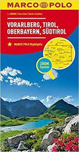 VORARLBERG, TIROL 1:200.000 -MARCO POLO
