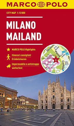 MILANO / MAILAND / MILAN [1:12.000] -MARCO POLO