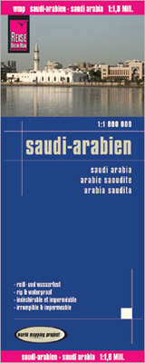 SAUDI-ARABIEN - SAUDI ARABIA 1:1.800.000 -REISE KNOW-HOW