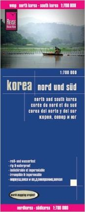 KOREA NORTH SOUTH  1:700.000  -REISE KNOW-HOW