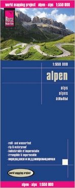 ALPEN-ALPS 1:550.000 -REISE KNOW-HOW