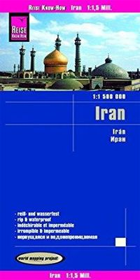 IRAN 1:1.500.000 -REISE KNOW-HOW