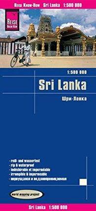 SRI LANKA 1:500.000 -REISE KNOW-HOW