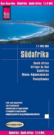 SUDAFRIKA 1:1.400.000 SOUTH AFRICA -REISE KNOW-HOW