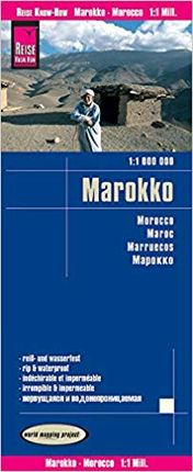 MAROKKO - MOROCCO 1:1.000.000 -REISE KNOW-HOW
