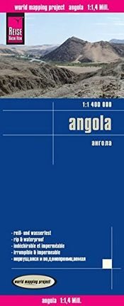 ANGOLA 1:1.400.000 -REISE KNOW-HOW