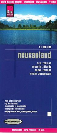 NEUSEELAND -NEW ZEALAND 1:1.000.000 -REISE KNOW-HOW
