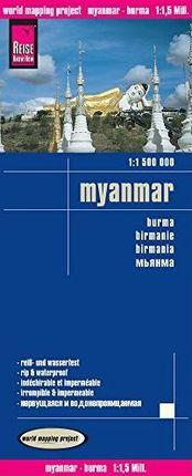 MYANMAR 1:1.500.000 -REISE KNOW-HOW