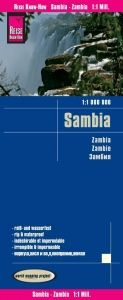 SAMBIA - ZAMBIA 1:1.000.000 -REISE KNOW HOW