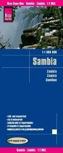 SAMBIA - ZAMBIA 1:1.000.000 -REISE KNOW HOW