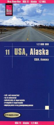 USA 11 - ALASKA 1:2.000.000 -REISE KNOW-HOW
