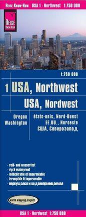 1. USA -NORTHWEST [1:750.000] -REISE KNOW HOW