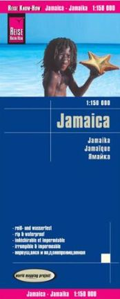 JAMAICA 1:150.000 -REISE KNOW-HOW