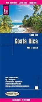 COSTA RICA 1:300.000 -REISE KNOW-HOW
