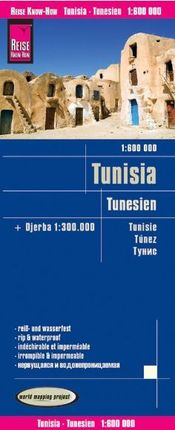 TÚNEZ 1:600.000 IMPERMEABLE