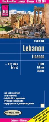 LEBANON / LIBANON 1:200.000 -REISE KNOW-HOW