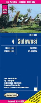 SULAWESI 1:800.000 -REISE KNOW-HOW