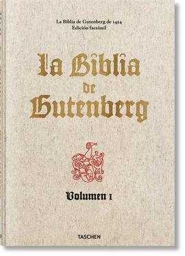 BIBLIA DE GUTENBERG, LA
