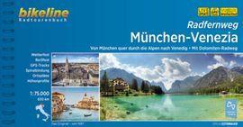 MUNCHEN - VENEZIA BIKELINE 1:75000 600KM
