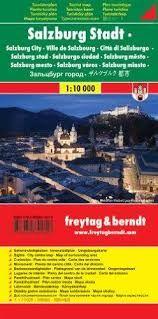 SALZBURG 1:10.000 -CITY POCKET -FREYTAG & BERNDT
