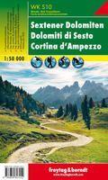 WKS 10 SEXTENER DOLOMITEN-CORTINA D'AMPEZZO 1:50.000