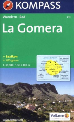 231 LA GOMERA 1:30.000 -KOMPASS