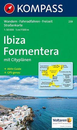239 IBIZA-FORMENTERA 1:50.000 -KOMPASS