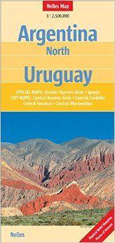 ARGENTINA NORTH - URUGUAY 1:2.500.000 -NELLES