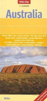 AUSTRALIA 1:4.500.000 -NELLES