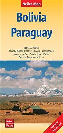 BOLIVIA - PARAGUAY [1:2.500.000] -NELLES VERLAG