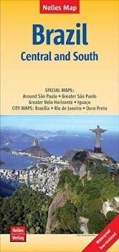 BRAZIL (CENTRAL AND SOUTH) [1:2.500.000] -NELLES VERLAG