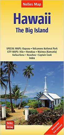 HAWAII THE BIG ISLAND 1:330.000 -NELLES