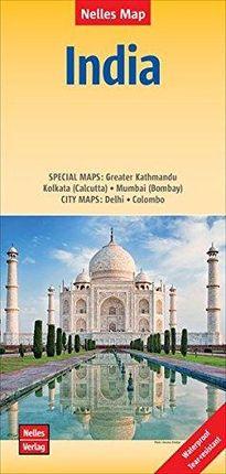 INDIA [1:4.500.000] -NELLES VERLAG