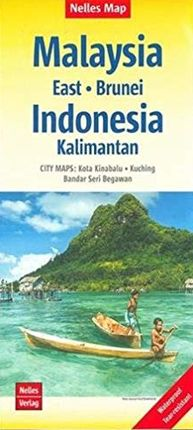 MALAYSIA (EAST - BRUNEI) [1:1.500.000] -NELLES VERLAG