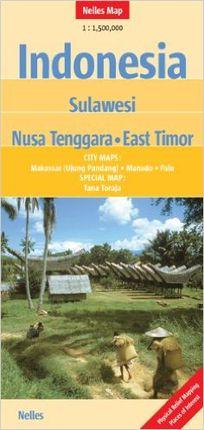 INDONESIA SULAWESI 1:1.500.000 -NELLES