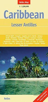 CARIBBEAN-LESSER ANTILLES 1:2.500.000 -NELLES
