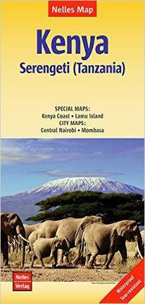 KENYA SERENGETI (TANZANIA) 1:1.100.000 -NELLES