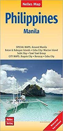 PHILIPPINES - MANILA [1:1.500.000 - 1:17.500] -NELLES VERLAG