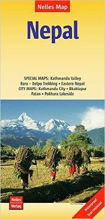 NEPAL [1:480.000 - 1:1.500.000] -NELLES VERLAG