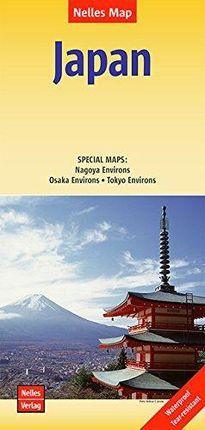 JAPAN [1:1.500.000] -NELLES VERLAG
