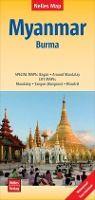 MYANMAR BURMA 1:1.500.000 -NELLES