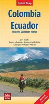 COLOMBIA - ECUADOR [1:2.500.000] -NELLES VERLAG