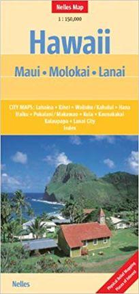 HAWAII (MAUI / MOLOKAU / LANAI) [1:150.000] -NELLES VERLAG