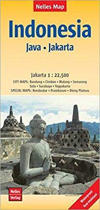 INDONESIA (JAVA - JAKARTA) [1:750.000 - 1:22.500] -NELLES VERLAG