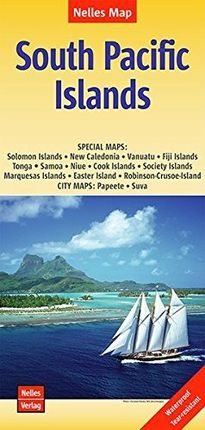 SOUTH PACIFIC ISLANDS 1:13.000.000 -NELLES